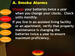 a smoke alarms1