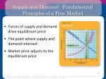 supply and demand fundamental principles of a free market2