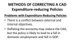 methods of correcting a cad expenditure reducing policies3