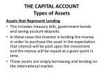 the capital account types of assets1