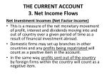 the current account 3 net income flows1
