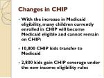 changes in chip