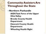 community assisters are throughout the state2