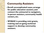 community assisters