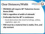 clear distances width1