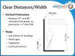 clear distances width3