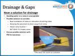 drainage gaps1
