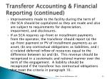 transferor accounting financial reporting continued3