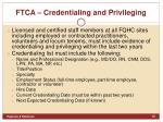 ftca credentialing and privileging1