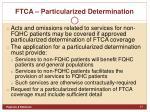 ftca particularized determination1