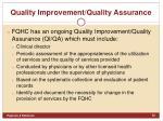quality improvement quality assurance