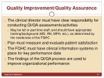 quality improvement quality assurance1