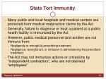 state tort immunity1