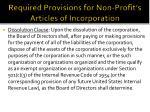 required provisions for non profit s articles of incorporation2