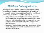 ipar dear colleague letter4