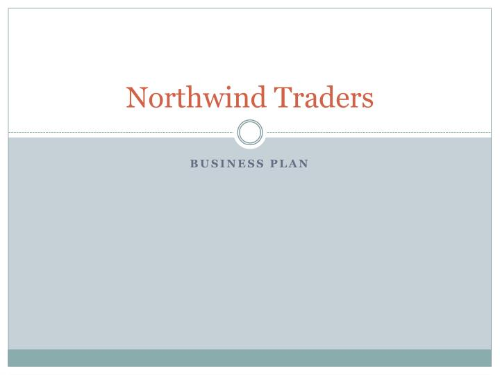 northwind traders n.