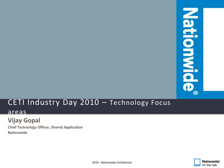 ceti industry day 2010 technology focus areas n.
