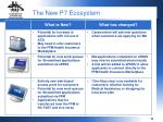 the new p7 ecosystem2