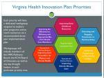 virginia health innovation plan priorities