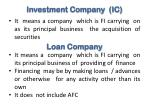 investment company ic