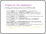 impact on the classroom1