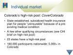 individual market
