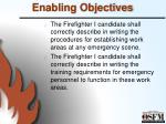 enabling objectives11
