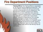 fire department positions7