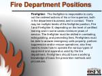 fire department positions9