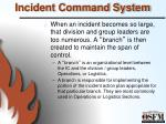 incident command system9