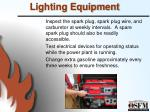 lighting equipment1
