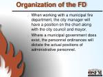 organization of the fd2