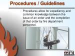 procedures guidelines1