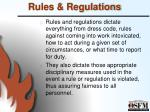 rules regulations1
