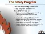 the safety program