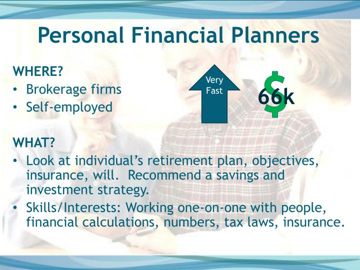 Personal Financial Planners