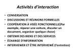 activit s d interaction