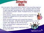 integrity gifts