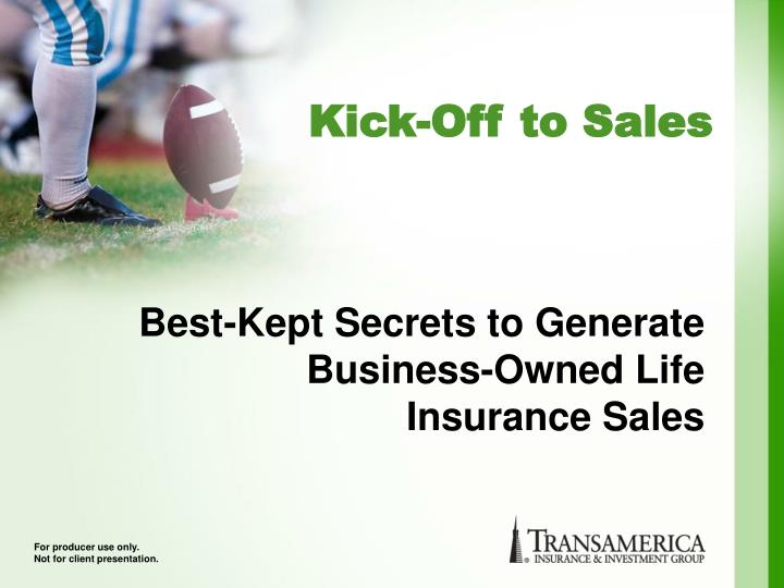 best kept secrets to generate business owned life insurance sales