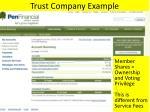 trust company example