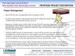 plum borough school district new holiday park elementary school proposed project description5