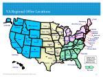 va regional office locations