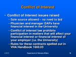 conflict of interest18