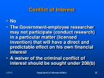 conflict of interest4
