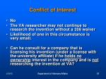conflict of interest9