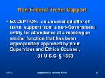non federal travel support1