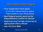 non federal travel support2