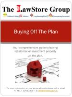 buying off the plan