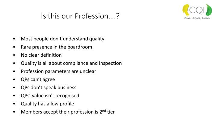 Is this our Profession….?