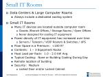 small it rooms